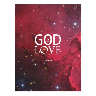 1 John 4:16 Postcard