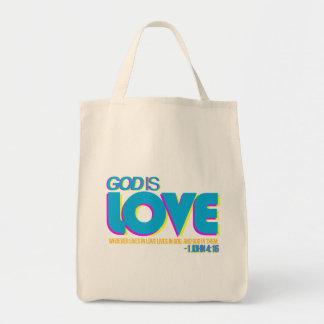 1 John 4:16 Tote Bag
