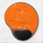 "1 John 4:18 - Choose you own color. Customizable Gel Mouse Pad<br><div class=""desc"">&quot;There is no fear in love, but perfect love casts out fear&quot; 1 John 4:18 NASB. Beautiful typography is accented by swirly flourishes on this uplifting scripture quote design. Carry this inspiring verse with you everywhere or hang it on your wall to look at every day! To customize the color:...</div>"