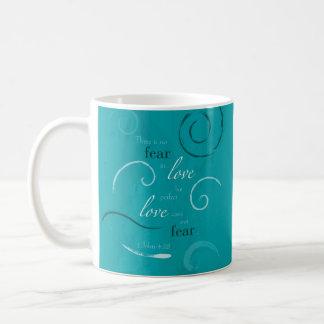 1 John 4:18 Classic White Coffee Mug