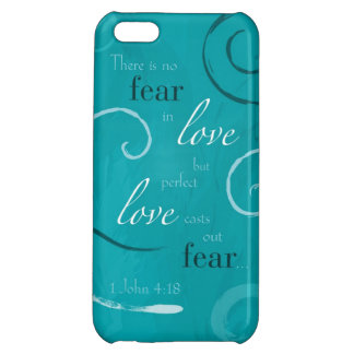 1 John 4:18 iPhone 5C Covers