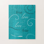 """1 John 4:18 Jigsaw Puzzle<br><div class=""""desc"""">There is no fear in love but perfect love casts out fear...  1 John 4:18</div>"""