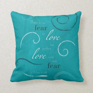 1 John 4:18 Pillow