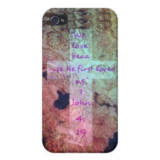 1 John 4:19 Christian iPhone 5 case