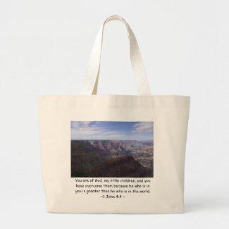 1 John 4:4 Bags