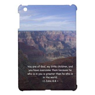 1 John 4:4 iPad Mini Case