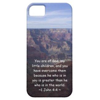 1 John 4:4 iPhone 5 Cover