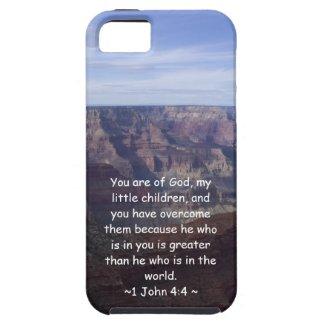1 John 4:4 iPhone 5 Covers