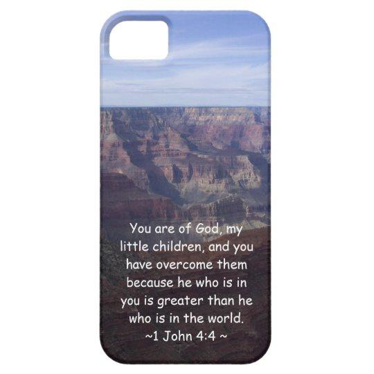 1 John 4:4 iPhone SE/5/5s Case