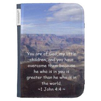 1 John 4:4 Kindle 3 Covers