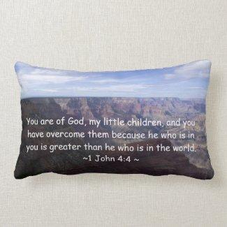 1 John 4:4 Pillows