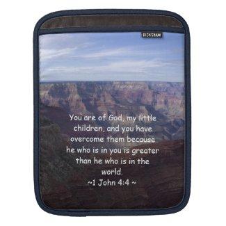 1 John 4:4 Sleeve For iPads