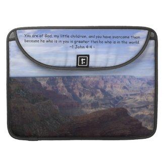 1 John 4:4 Sleeve For MacBook Pro