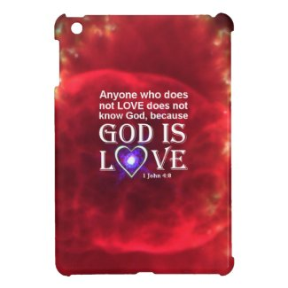 1 John 4:8 Case For The iPad Mini