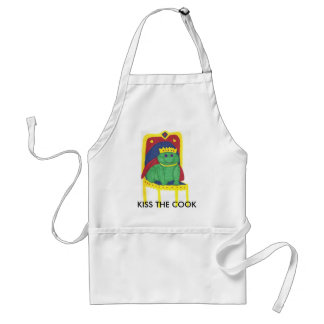 1, KISS THE COOK ADULT APRON