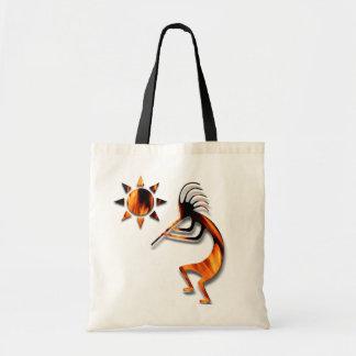 1 Kokopelli #1 Canvas Bags