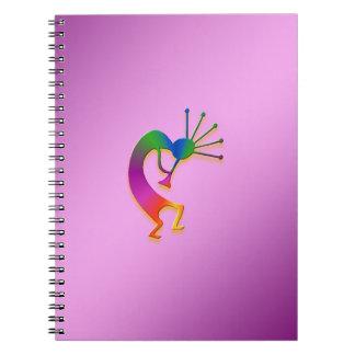 1 Kokopelli #31 Libro De Apuntes Con Espiral