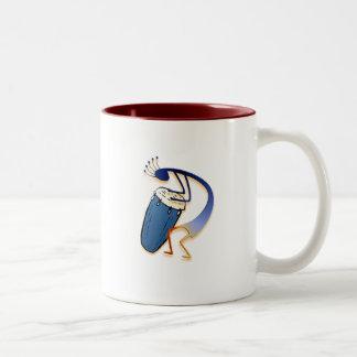 1 Kokopelli #32 Two-Tone Coffee Mug