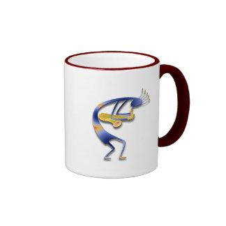 1 Kokopelli #33 Ringer Mug