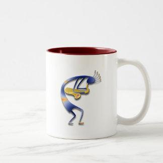 1 Kokopelli #33 Two-Tone Coffee Mug