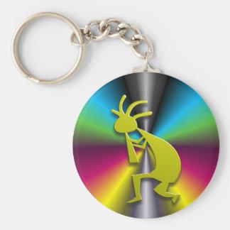 1 Kokopelli #78 Basic Round Button Keychain