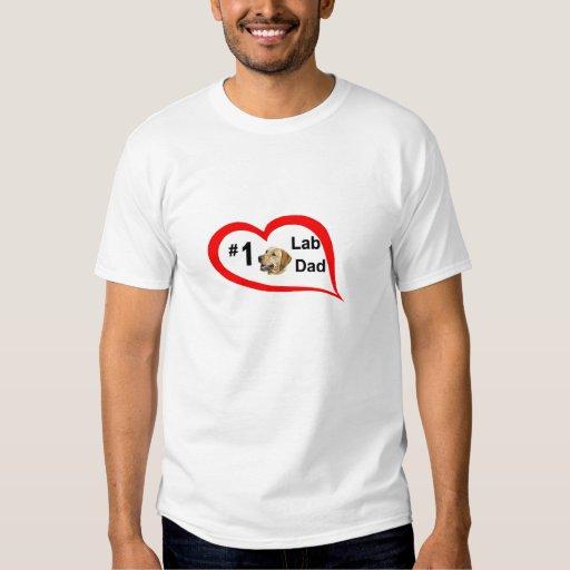 #1 lab dad (yl) T-Shirt