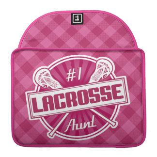 #1 Lacrosse Aunt Macbook Sleeve