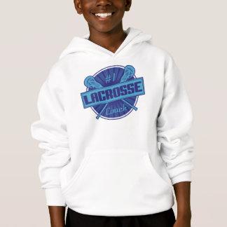 #1 Lacrosse Coach (blue) Hoodie