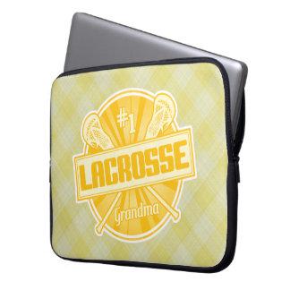 #1 Lacrosse Grandma Laptop Cover