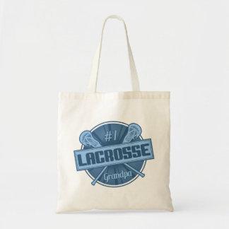 #1 Lacrosse Grandpa Tote Bag