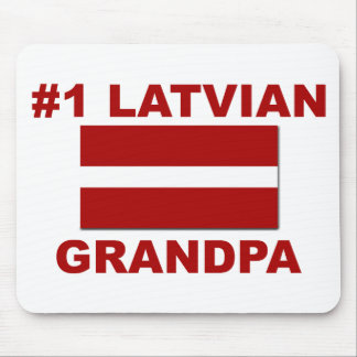 #1 Latvian Grandpa Mouse Pad