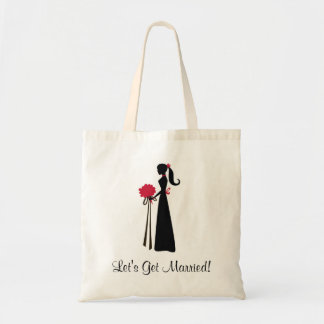 1, Let's Get Married! Budget Tote Bag
