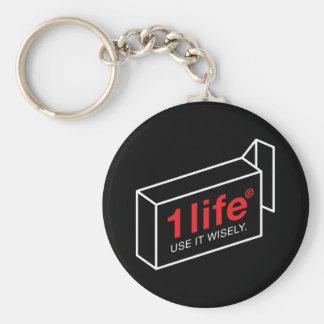 1 Life Keychain 2