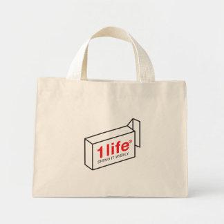 1 Life Spend Mini Tote Bag