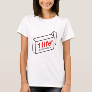 1 Life Women's Fitted T-shirt