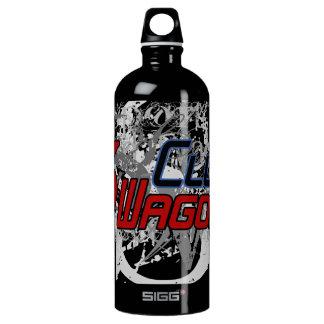 1 Litre, Water bottle, 6 Wagon Club Aluminum Water Bottle