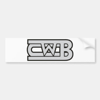 1] logotipo del cwb [ pegatina para auto