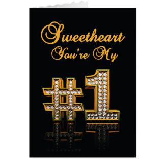 #1 Love Card