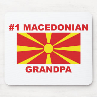 #1 Macedonian Grandpa Mouse Pad