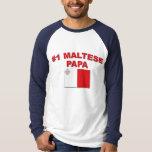 #1 Maltese Papa Shirt