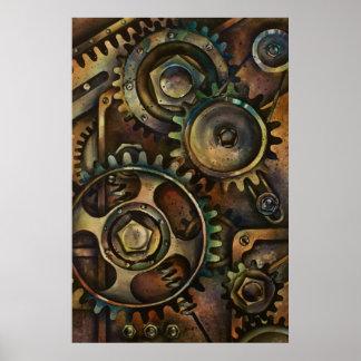 1 mecánico póster