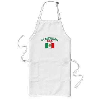 #1 Mexican Dad Long Apron