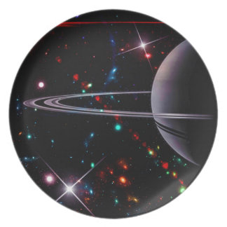 1 Million Light Years Away Melamine Plate