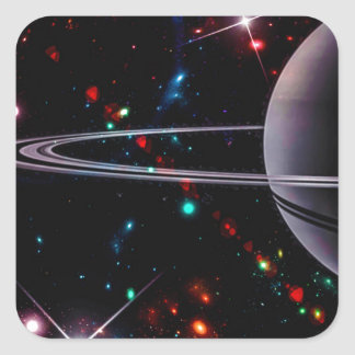 1 Million Light Years Away Square Sticker