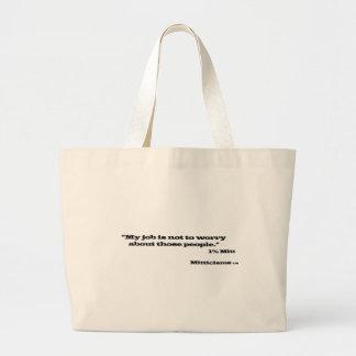 1% Mitt Canvas Bag