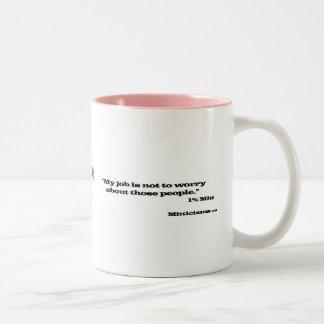 1% Mitt Two-Tone Coffee Mug