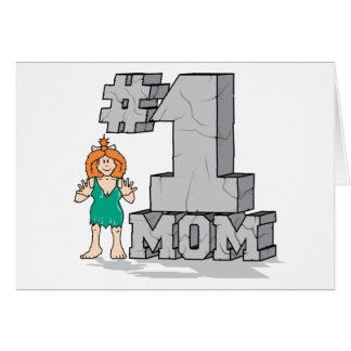 #1 Mom Card