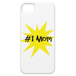 #1 Mom iPhone 5 Cover