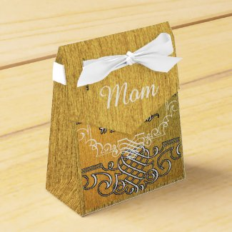 #1 mom Golden typography mother's day