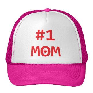 #1 Mom Trucker Hats